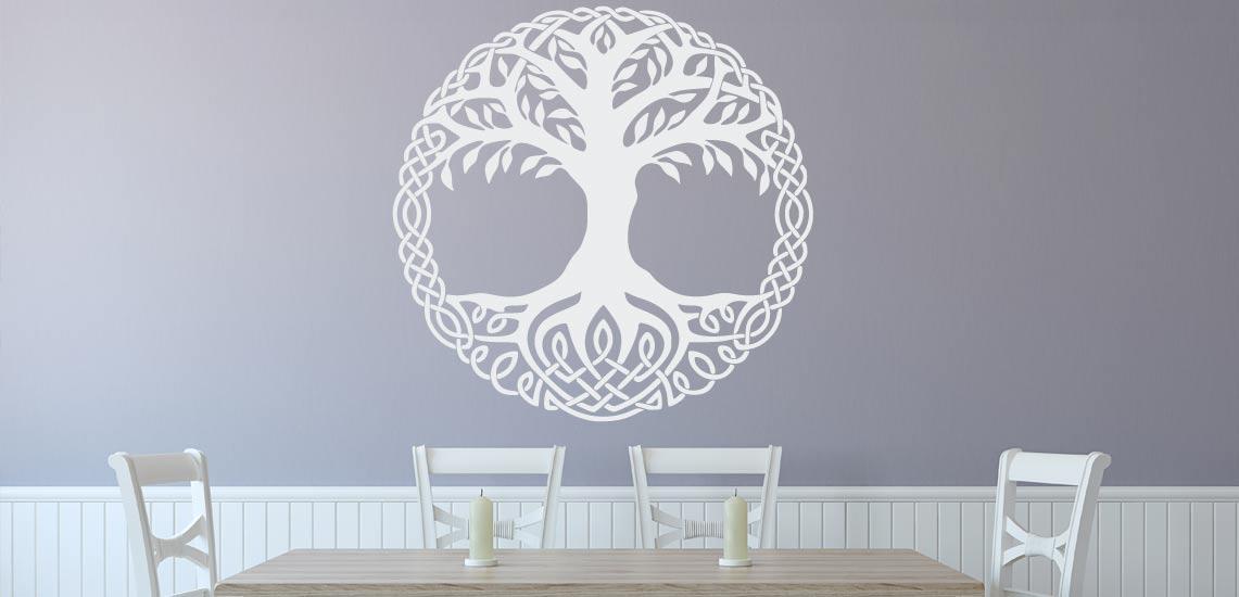 Baum des Lebens Wandtattoo